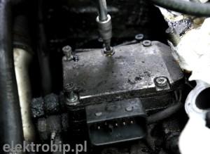odkręcanie sterownika pompy wtryskowej bosch vp44 logo